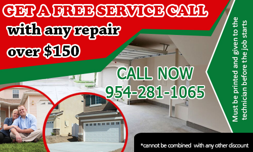 Garage Door Repair Coconut Creek Coupon - Download Now!